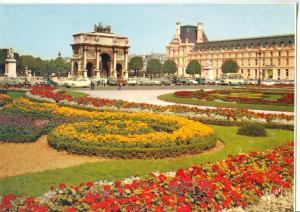 France, Paris, Jardin des Tuileries, unused Postcard