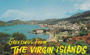 Scenic Greetings from Charlotte Amalie Harbor,St. Thomas, Virgin Islands, U.S...