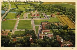 DE - Dover. Administration Buildings, Aerial View
