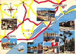 BR48080 Souvenir regional map cartes geographiques