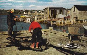 Fishing, EASTERN SHORE, Nova Scotia, Canada, 40-60's