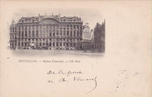 Belgium Brussells Maison Flamande