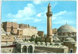 Syria, Halab, Aleppo, Alep, The Citadel, 1960s used Postcard