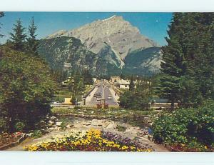 Unused Pre-1980 TOWN VIEW SCENE Banff Alberta AB p8900