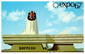 Canada Montral Expo 67 Great Britain  Pavilion