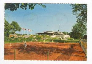 Tennis Courts, Ronneby, SWEDEN    Brunn med Tennisbanorna, PU-1964