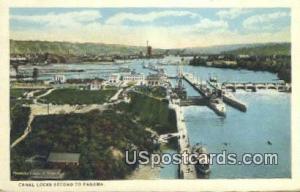 Canal Locks, WA Postcard      ;      Canal Locks, Washington Post Card
