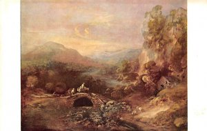 Landscape with a Bridge by Thomas Gainsborough National Gallery of Art, Washi...