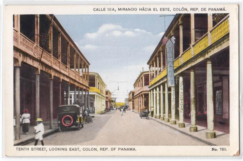 10th St. Colon, Rep of Panama