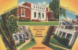 MORGANTOWN, West Virginia, 30-40s; Greetings From West Virginia University