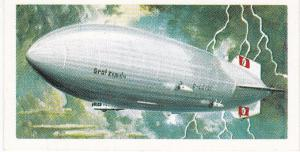Trade Cards Brooke Bond Tea Transport Through The Ages No 36 Airship