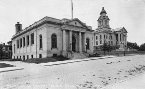 G24/ Decorah Iowa Real Photo RPPC Postcard c1940s Post Office Court House
