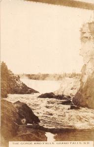 C32/ Canada Grand Falls New Brunswick Real Photo RPPC Postcard Gorge Falls 4