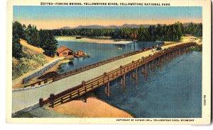 37763-Fishing Bridge, Yellowstone River, Yellowstone National Park