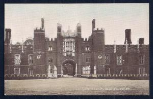 West Front Hampton Court Palace England unused c1920's