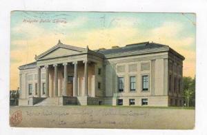 Public Library, Holyoke, Massachusetts, PU-1906
