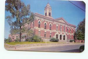 Old Vintage Postcards Courthouse Anniston Al # 1888A