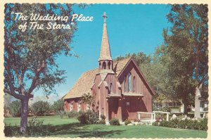 Las Vegas NV, Nevada - Little Church of the West - Wedding Place of the Stars
