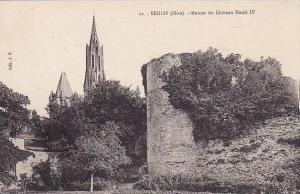 Ruines Du Chateau Henri IV, Senlis (Oise), France, 1900-1910s