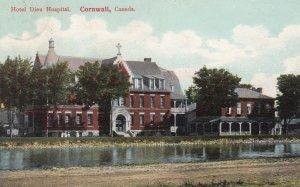 CORNWALL, Ontario, Canada, 1900-10s; Hotel Dieu Hospital