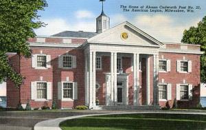 WI - Milwaukee, Alonzo Cudworth Post No. 23, The American Legion