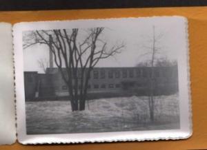 ME Lot 8 PHOTOS Flood Auburn LEWISTON ? MAINE 1953