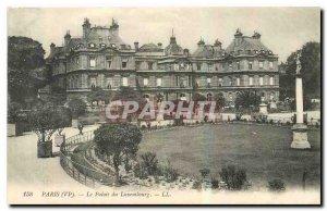 Old Postcard Paris VI Luxembourg Palace