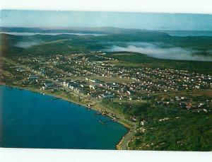 Wawa Ontario Canada Aerial View Sault Ste Marie Magpie River  Postcard # 5803