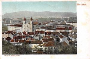 Italy Gurize Gorica Schloss von Goerz (Gorizia) Castle, Aerial View 1907