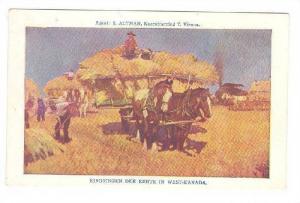 Harvest scene , Western Canada , 00-10s