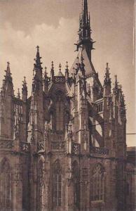France Mont-Saint-Michel La Basilique L'Abside