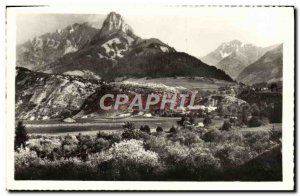 Postcard Modern Bauges The Chatellard Dent Pleuven