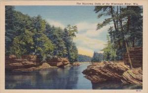 Wisconsin Dells The Narrows Dells Of The Wisconsin River