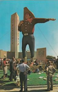 Big Tex World's Tallest Cowboy at Cotton Bowl, Dallas TX, Texas