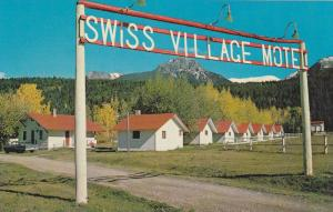 Swiss Village Motel , GOLDEN , B.C. , Canada, 40-60s