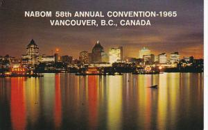 Canada NABOM 58th Annual Convention 1965 Vancouver British Columbia
