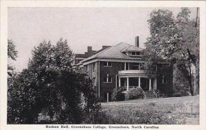 North Carolina Greensboro Hubson Hall Greensboro College