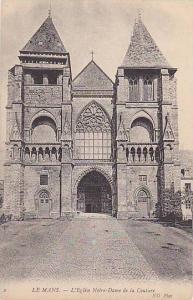 L'Eglise Notre-Dame De La Couture, Le Mans (Sarthe), France, 1900-1910s