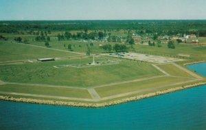 UPPER CANADA VILLAGE, Ontario, Canada, 1940-60s; Aerial View of Chrysler Memo...
