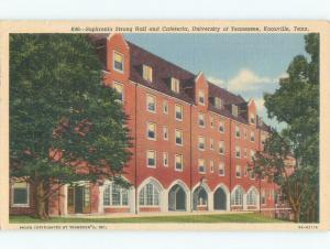 Linen University Of Tennessee - Knoxville TN E1011
