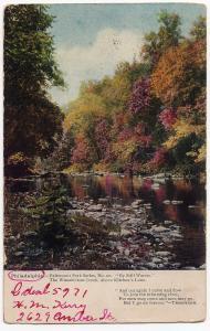 1901 Philadelphia PA By Still Waters Tennyson Wissahickon Creek Fairmount Park