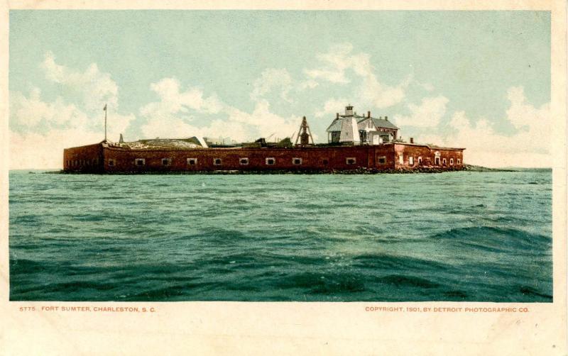 SC - Charleston. Fort Sumter (South Carolina)