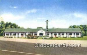 Shamrock Motel, Harrisonville, MO, USA Motel Hotel Postcard Post Card Old Vin...