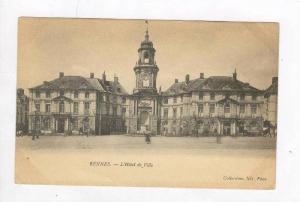 L'Hotel De Ville, Rennes (Ille-et-Vilaine), France, 1900-1910s