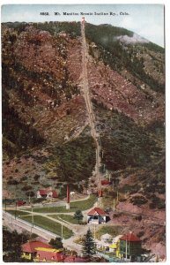 Mt. Manitou Scenic Incline Ry., Colo