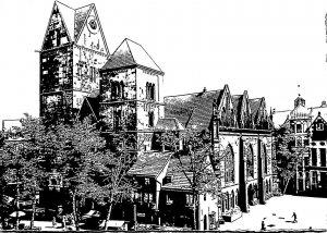 Germany Bremen Frauenkirche