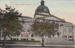 Pennsylvania Norristown County Court House 1917