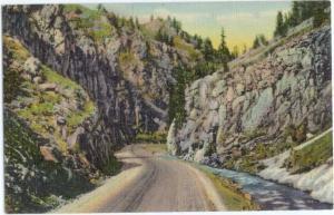 Linen of Blue Canon Blue Mesa Hwy 50 between Gunnison & Mont