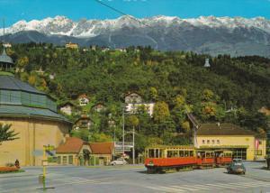 Cable Car, Classic Car, Street View, INNSBRUCK, Tirol, Austria, 50-70´s