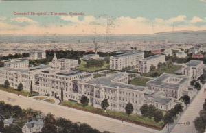 Bird's Eye View of General Hospital, Toronto, Ontario, Canada, PU-1919